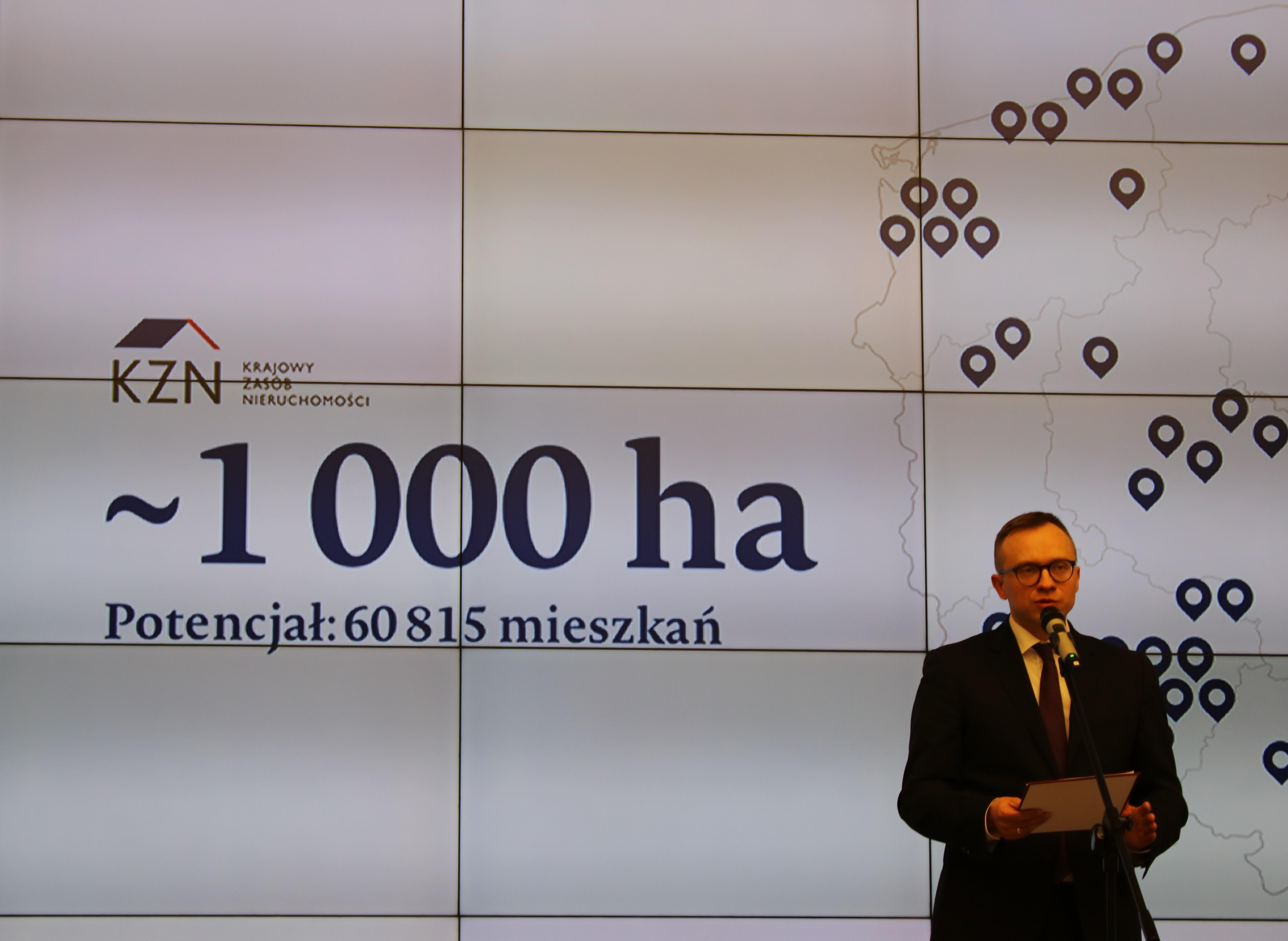 Bank ziemi programu Mieszkanie Plus. Nowelizacja Ustawy o Krajowym Zasobie Nieruchomości.